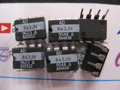 1 Pieces AD843JN 34 MHz, CBFET Fast Settling Op Amp  AD843