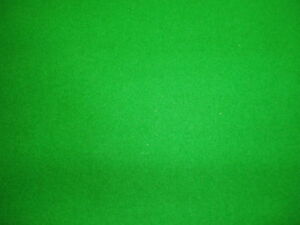 GREEN-6x3-WOOL-QUALITY-POOL-TABLE-CLOTH-BED-amp-CUSHIONS
