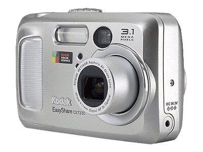 kodak easyshare cx7330 3 1mp digital camera silver ebay rh ebay co uk Kodak EasyShare DX7590 Kodak EasyShare Z1012 Is