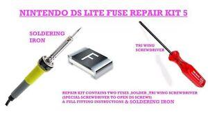 DS-LITE-reparation-fusibles-defectueux-DS-TRI-WING-a-souder-Iron