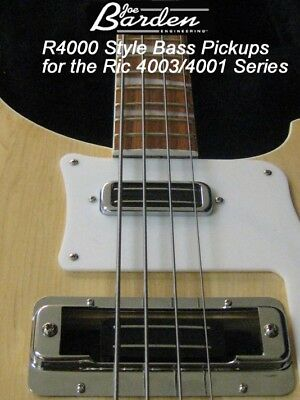 Joe Barden R4000 Pickup SET Rickenbacker 4003/4001 BASS