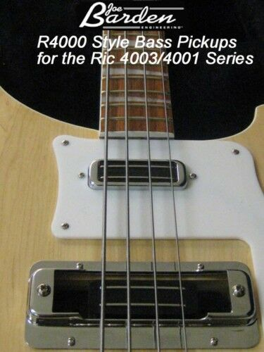 Joe Barden R4000 Pickup SET Rickenbacker 4003/4001 BASS