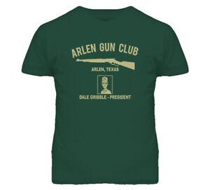 King Of The Hill Arlen Gun Club Funny T Shirt