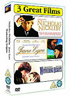 Classics Collection - Nicholas Nickleby/Jane Eyre/Wuthering Heights (DVD, 2007, 3-Disc Set, Box Set)