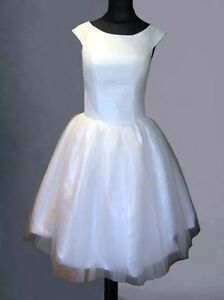 50s-60s-IVORY-WHITE-TAFFETA-BRIDAL-WEDDING-EVENING-PROM-DRESS-BALL-GOWN-8-10-12