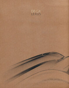 2008-Lexus-GX-GX470-28-page-Original-Car-Sales-Brochure-Book
