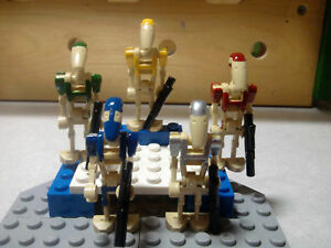 Lego-Star-Wars-B1-Battle-Droids-R2D2-Squad-Citadel-Guards-Commando-Customs
