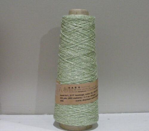 HABU A1 TSUMIGI SILK for Knitting Crocheting /& Weaving