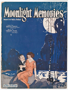 Sheet-Music-MOONLIGHT-MEMORIES-Waltz-Ballad-1924