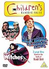 Danny, The Champion Of The World / The Witches / Willy Wonka And The Chocolate Factory (DVD, 2010, 3-Disc Set, Box Set)