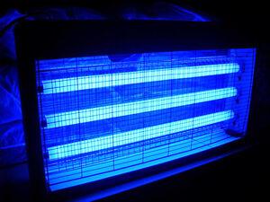 LIGHTS ONLY 2 X 60CM UV TUBE FLUORESCENT LAMP( FOR BUG ZAPPER FLY ...
