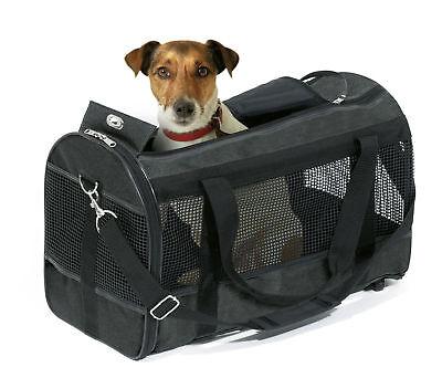 Karlie Tragetasche Divina Schwarz 40x26x26cm - Hunde Tasche Hundetragetasche