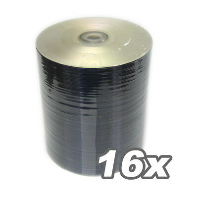 300 DVD-R 1-16x SILVER SHINY Blank Media DVD-R No Stack