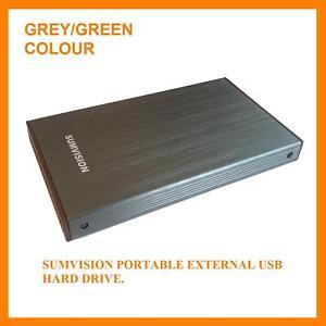 Sumvision-USB-3-0-160GB-External-Mini-2-5-034-Hard-Drive