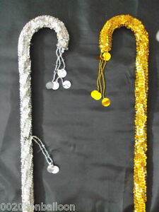 WHOLESALE-15-PCS-BELLY-DANCE-CANES-STICKS-EGYPTIAN-DECORATED-SEQUINS-BEADS