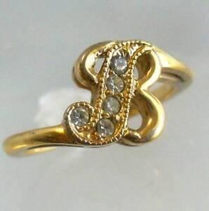 Vintage Avon Diamond Rings