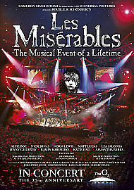 Les Miserables - 25th Anniversary - DVD- NEW