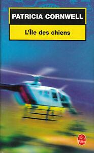 Livre-Poche-l-039-ile-des-chiens-Patricia-Cornwell-book