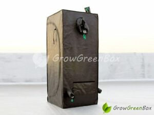 NEW 2' x 2' x 4.5' MYlar Hydroponics Grow Room Tent Box Hut by GrowGreenBox