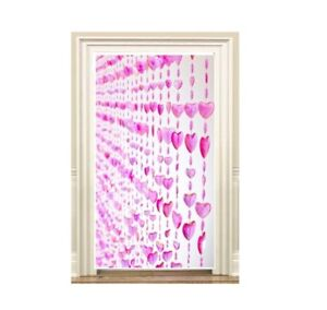 PINK-LOVE-HEARTS-BEADED-DOOR-PARTY-DECORATION-CURTAIN