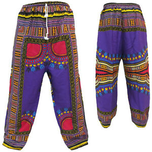 Hippy-Festival-Ethnic-African-Style-Pants-Trousers-up-to-40-034-Waist-42-034-Long
