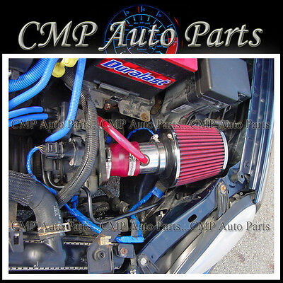 RED 2000-2005 CHRYSLER DODGE NEON 2.0 2.0L SOHC AIR INTAKE INDUCTION SYSTEMS