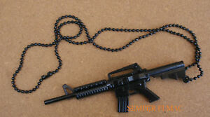 M16-ASSULAT-RIFLE-CHAIN-US-ARMY-AIR-FORCE-NAVY-MARINES-USCG-M-16-PIN-NECKLACE