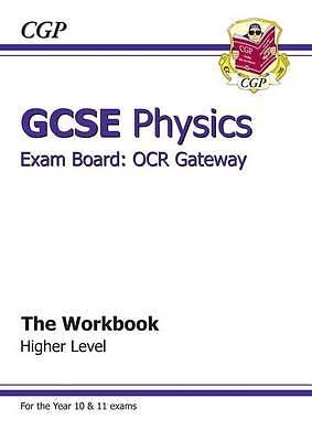 """AS NEW"" Books, Cgp, GCSE Physics OCR Gateway Workbook, Paperback Book"