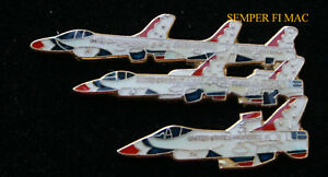 US-AIR-FORCE-THUNDERBIRDS-DELTA-FORMATION-F-16-FIGHTING-FALCON-COLLECTOR-PIN-WOW
