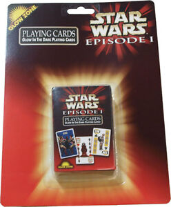 STAR-WARS-Episode-1-039-Glow-in-the-Dark-039-Playing-Cards