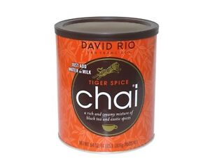Tiger Spice Chai Tea By David Rio 1816g (4lb) Can / tin | eBay