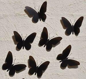 10-3D-BLACK-Birdwing-Butterfly-Silhouette-Wall-Art-Decoration-Kids-Room-Mirror