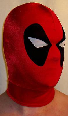 Superhero Deadpool Mask Halloween Costume hero free shipping MADE IN AMERICA