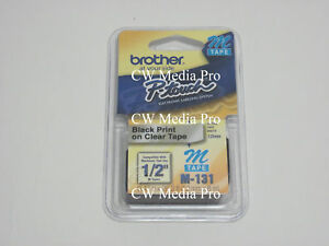 Brother-M131-M-1-2-034-B-C-Ptouch-label-tape-PT90-MK131