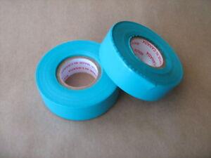 """2 Rolls of Teal Hockey Sock Tape 1"""" x 30 yds Shin SportsTape"""