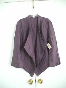 STORE-CLOSING-NWT-Coldwater-Creek-Easy-Linen-Jacket