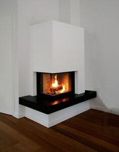 kamin eck kamin in fertiger arbeit bundesweit ebay. Black Bedroom Furniture Sets. Home Design Ideas
