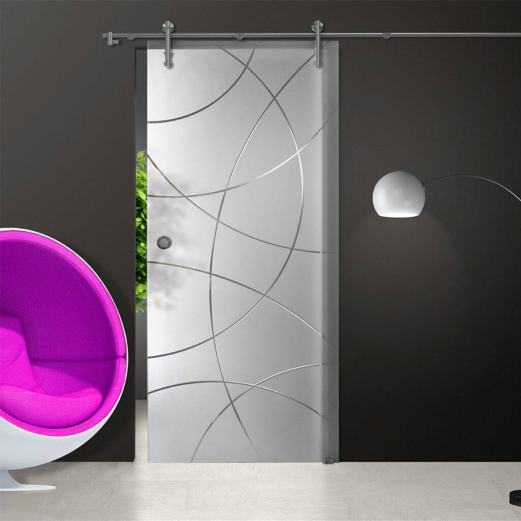 Schiebetüren, Glastür, Milchglas, Milchglas, Milchglas, mit Kristallrillenschliff, S902-S 1ea0ca