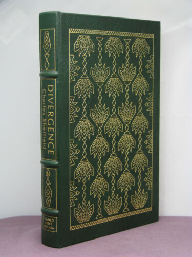 1st,signed by 3(au,ar,i),Heritage 2:Divergence by Charles Sheffield,Easton Press