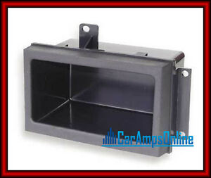 GM-GMC-CHEVY-PICKUP-TRUCK-POCKET-RADIO-DASH-KIT-CAR-STEREO-STORAGE-BIN-CUBBY