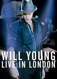 Will Young Live In London Wembley 2004 DVD NEW SEALED+Interview+Behind The Scene