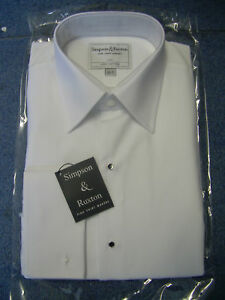 Simpson-amp-Ruxton-Marcella-MESS-DRESS-SHIRT-PURE-COTTON-PERFECT-FOR-MESS-FUNCTION