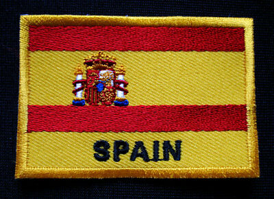SPAIN ESPANA PLUS ULTRA NATIONAL FLAG Sew on Patch