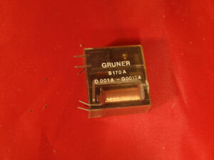 Gruner-Relay-S170A-Lot-of-8