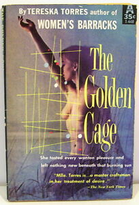The-Golden-Cage-by-Tereska-Torres-Vintage-Risque-Paperback-1959-Sexy-Cover
