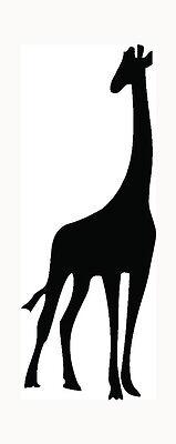 Giraffe Sticker Car Window Laptop Vinyl Decal Cool Gift Cute Zoo Animal Love