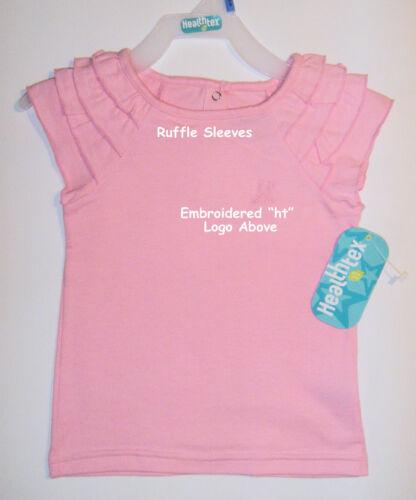 GIRLS  TODDLER SKORT /& SHIRT SET – PURPLE or PINK SZ 24 MO – NWT HEALTHTEX