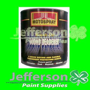 Body Deadener Paint