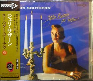 CD-JERI-SOUTHERN-you-better-go-now-Jap-Imp-nuevo-embalaje-original