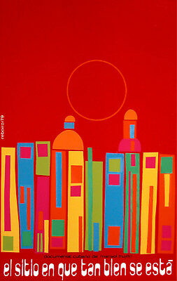 Cuban Documental POSTER.Stylish Graphics.Sunny City.Room Art Decor.1525